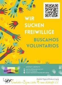 Buscamos voluntari@s / Wir suchen Freiwillige