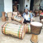 Curso de Percussion con /Trommelkurs mit Lancei Dioubate
