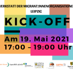 Save the date!!! 19.05.2021, 17:00 – 19:00 Uhr KICK OFF
